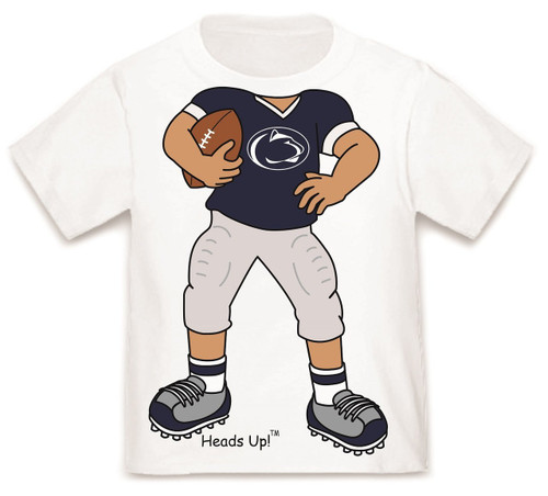 Penn State Nittany Lions Heads Up! Football Infant/Toddler T-Shirt