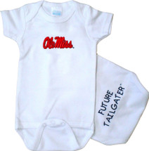 Mississippi Ole Miss Rebels Future Tailgater Baby Onesie