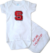 NC State Wolfpack Future Tailgater Baby Onesie