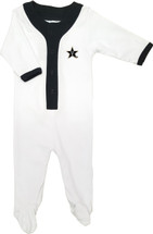 Vanderbilt Commodores Baby Long Sleeve Baseball Style Playsuit