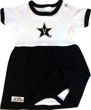 Vanderbilt Commodores Baby Onesie Dress