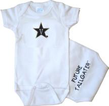 Vanderbilt Commodores Future Tailgater Baby Onesie