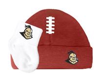 UCF Knights Baby Football Cap and Socks Set