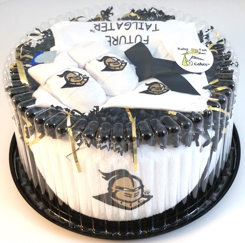 UCF Knights Baby Fan Cake Clothing Gift Set