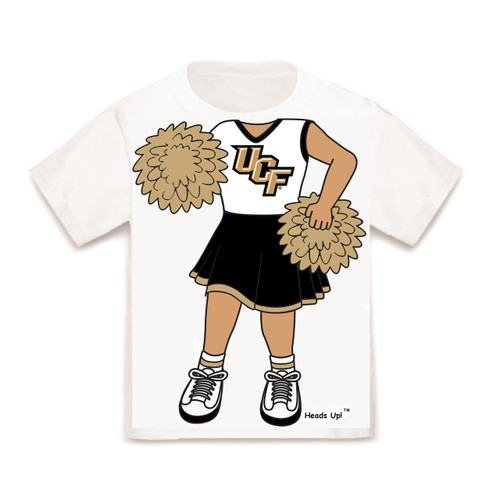 UCF Knights Heads Up! Cheerleader Infant/Toddler T-Shirt