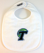 Tulane Green Wave 2 Ply Baby Bib