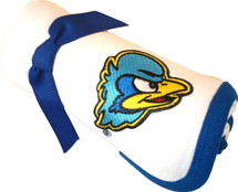 Delaware Blue Hens Baby Receiving Blanket