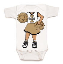 Idaho Vandals Heads Up! Cheerleader Baby Onesie