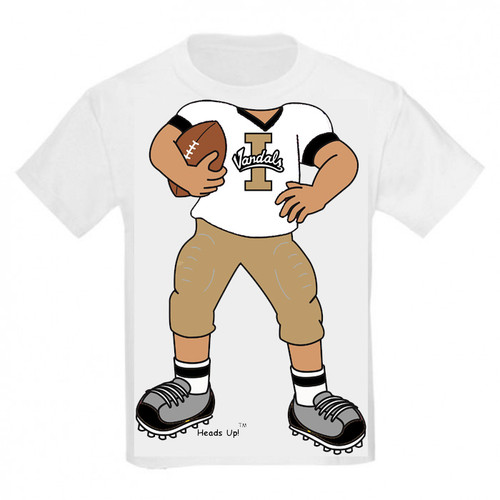 Idaho Vandals Heads Up! Football Infant/Toddler T-Shirt