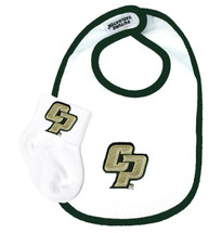 Cal Poly Mustangs Baby Bib and Socks Set