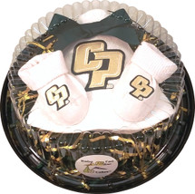 Cal Poly Mustangs Piece of Cake Baby Gift Set
