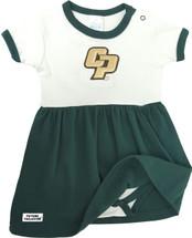 Cal Poly Mustangs Baby Baby Onesie Dress