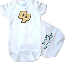 Cal Poly Mustangs Future Tailgater Baby Onesie