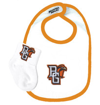 Bowling Green St. Falcons Baby Bib and Socks Set