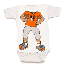 Bowling Green St. Falcons Heads Up! Football Baby Onesie