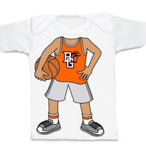 Bowling Green St. Falcons Heads Up! Basketball Infant/Toddler T-Shirt