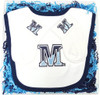 Maine Black Bears Bib and Socks Baby Gift Set