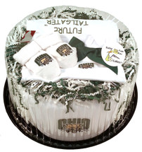 Ohio Bobcats Baby Fan Cake Clothing Gift Set