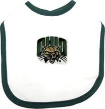 Ohio Bobcats 2 Ply Baby Bib