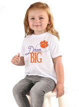 Clemson Tigers Dream Big Infant/Toddler T-Shirt