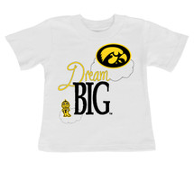 Iowa Hawkeyes Dream Big Infant/Toddler T-Shirt