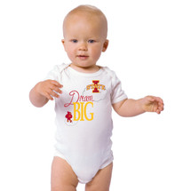 Iowa State Cyclones Dream Big Baby Onesie