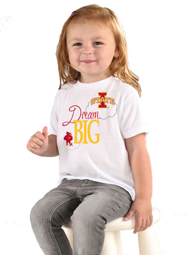 Iowa State Cyclones Dream Big Infant/Toddler T-Shirt