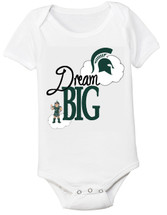 Michigan State Spartans Dream Big Baby Onesie
