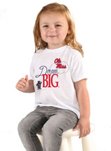 Mississippi Ole Miss Rebels Dream Big Infant/Toddler T-Shirt