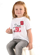 NC State Wolfpack Dream Big Infant/Toddler T-Shirt