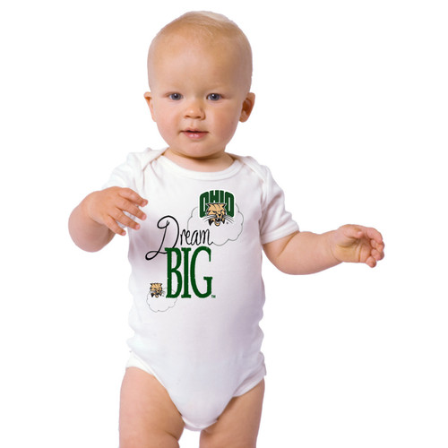 Ohio Bobcats Dream Big Baby Onesie
