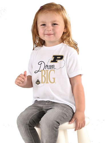Purdue Boilermakers Dream Big Infant/Toddler T-Shirt