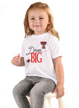 Texas Tech Red Raiders Dream Big Infant/Toddler T-Shirt