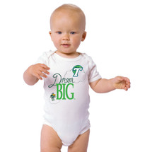 Tulane Green Wave Dream Big Baby Onesie