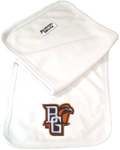 Bowling Green St. Falcons Baby Terry Burp Cloth
