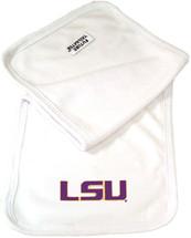 LSU Tigers Baby Terry Burp Cloth