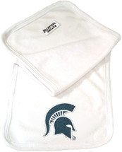 Michigan State Spartans Baby Terry Burp Cloth