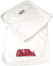 Mississippi Ole Miss Rebels Baby Terry Burp Cloth