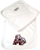 Mississippi State Bulldogs Baby Terry Burp Cloth