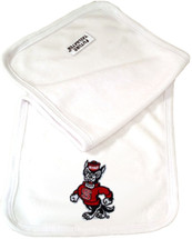 NC State Wolfpack Baby Terry Burp Cloth
