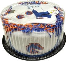 Boise State Broncos Baby Fan Cake Clothing Gift Set