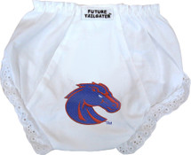 Boise State Broncos Eyelet Baby Diaper Cover