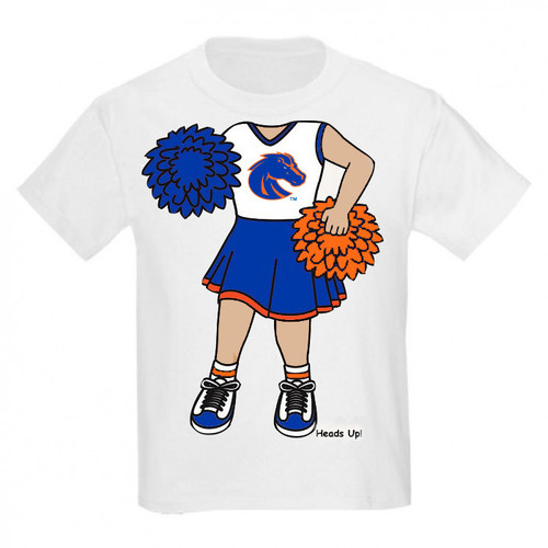 Boise State Broncos Heads Up! Cheerleader Infant/Toddler T-Shirt