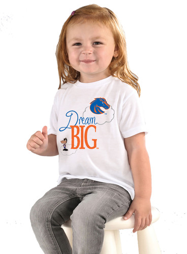 Boise State Broncos Dream Big Infant/Toddler T-Shirt