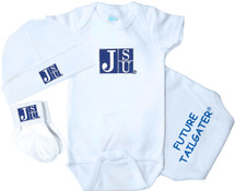 Jackson State Tigers Homecoming 3 Piece Baby Gift Set