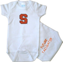 Syracuse Orange Future Tailgater Baby Bodysuit