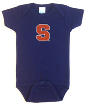 Syracuse Orange Team Spirit Baby Onesie
