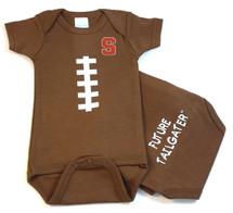 Syracuse Orange Future Tailgater Football Baby Onesie