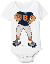 Syracuse Orange Heads Up! Football Baby Onesie