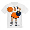 Syracuse Orange Heads Up! Cheerleader Infant/Toddler T-Shirt